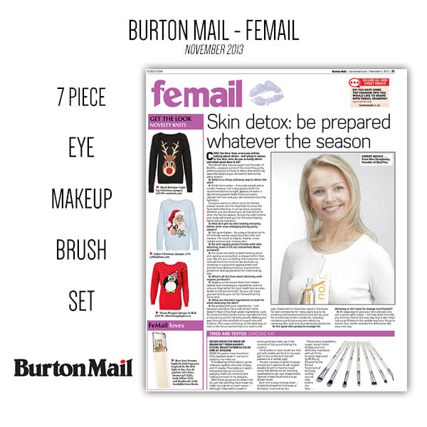 NANSHY IN BURTON MAIL magazine