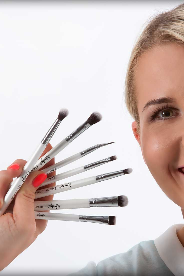 nanshy eye brush set