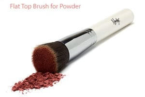 flat top foundation brush powders