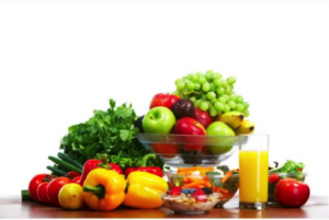 healthy food for radiant skin