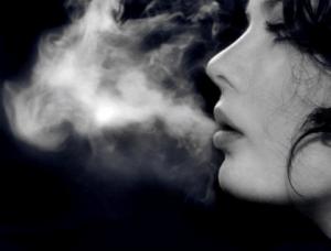 smoking and radiant skin