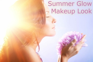 summer glow makeup look