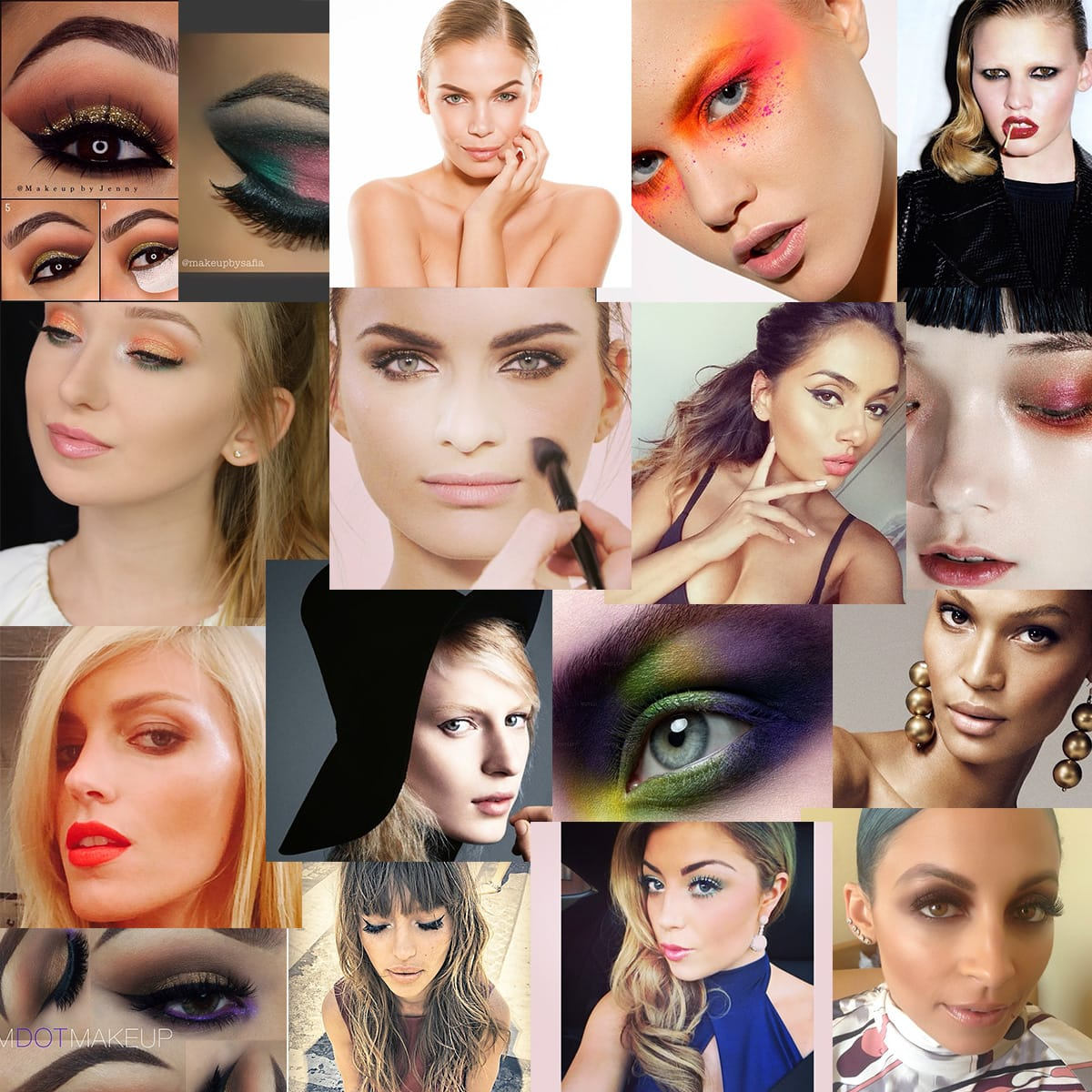 25 looks makeup artists