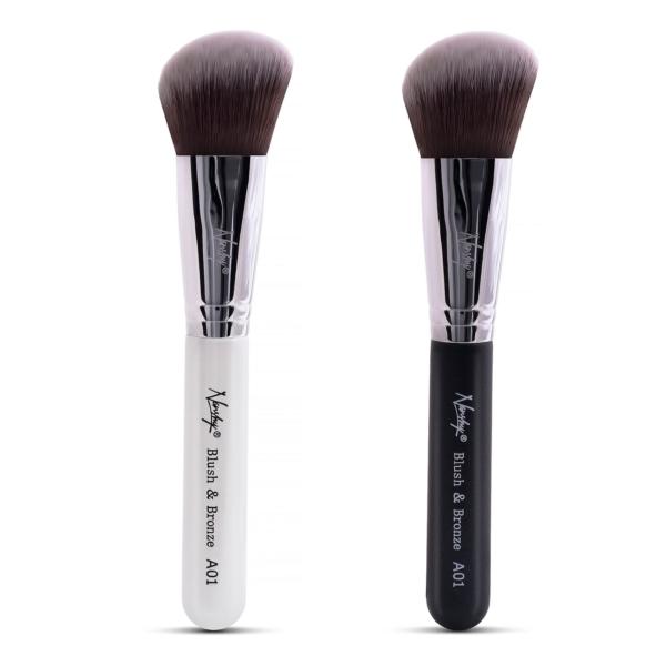 blush and bronze makeup brush