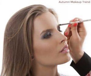 Autumn Makeup trend bold brows