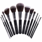 Masterful Collection Makeup Brush Set Black