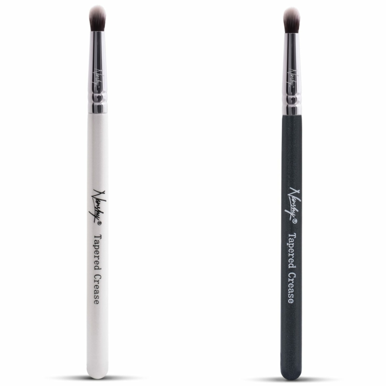 tapered crease makeup brush