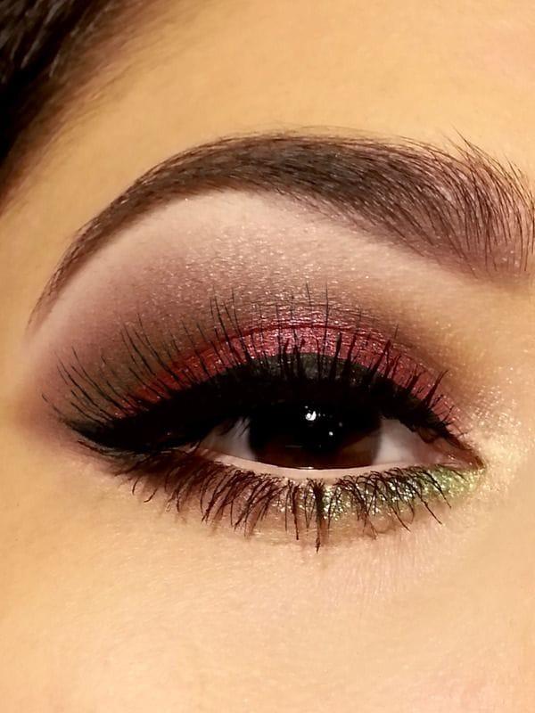 festive eyes