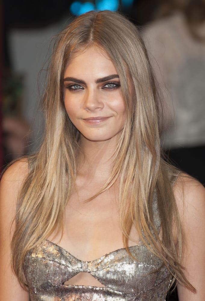 Cara Delevingne celebrity makeup makeup