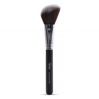 black contour makeup brush