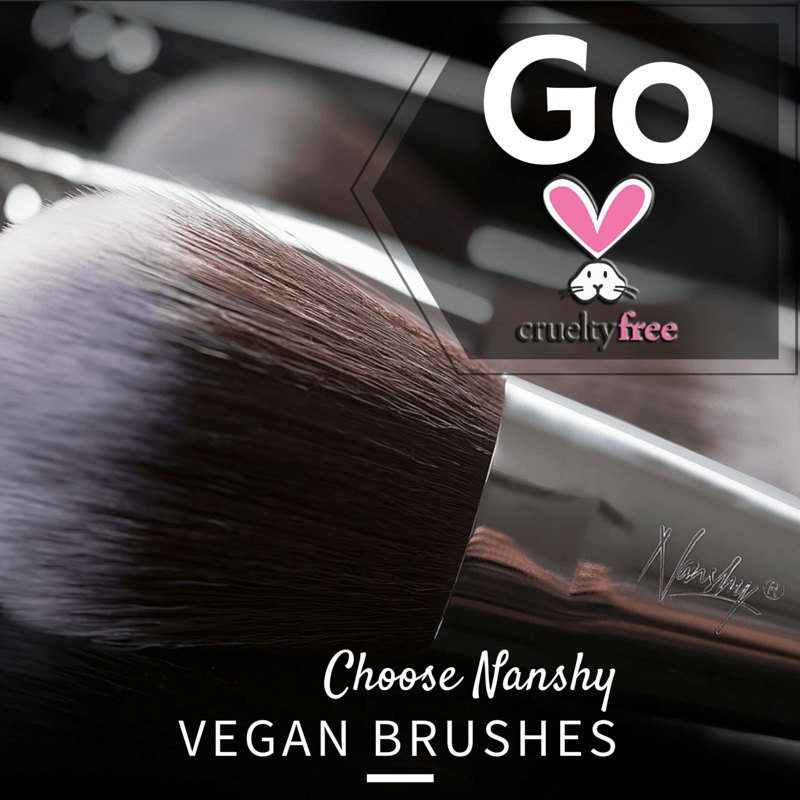 cruelty free vegan makeup brushes