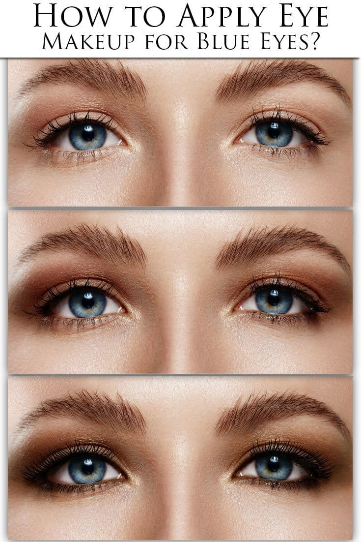 Have You Got Blue Eyes? Learn What Make-up Will Make Them