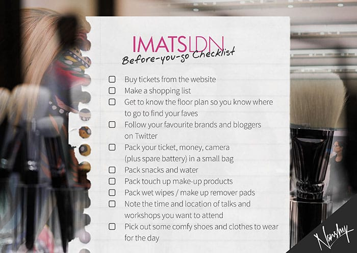 IMATSLDN Checklist Small click for full version