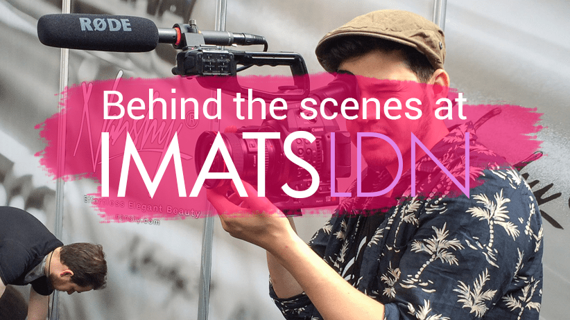 Nanshy Behind the scenes at IMATS London 2015