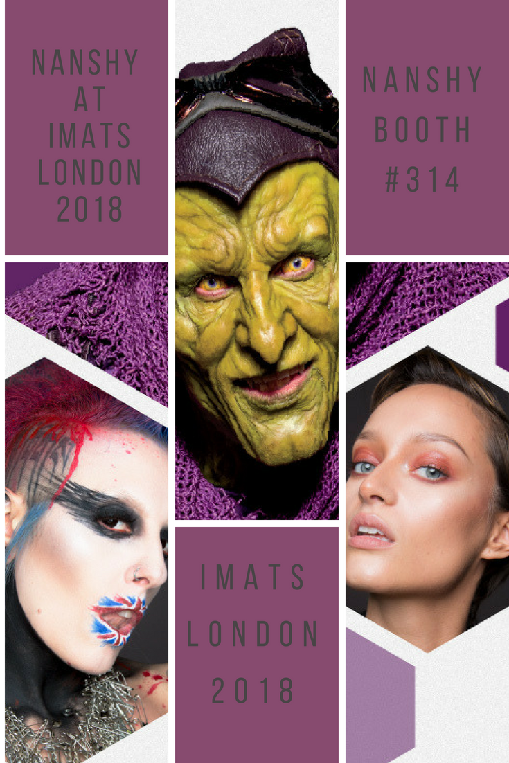 NANSHY at IMATS London 2018