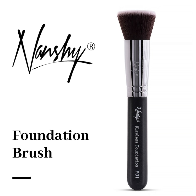 How to use Flat Top Foundation Brush? [Tutorial]