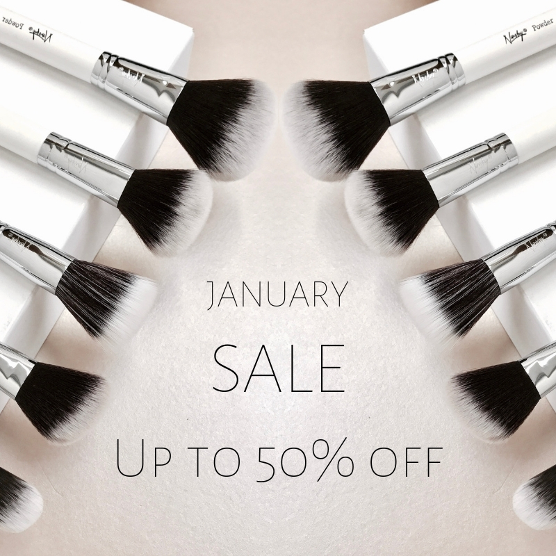 JANUARY SALE UP TO 50% OFF
