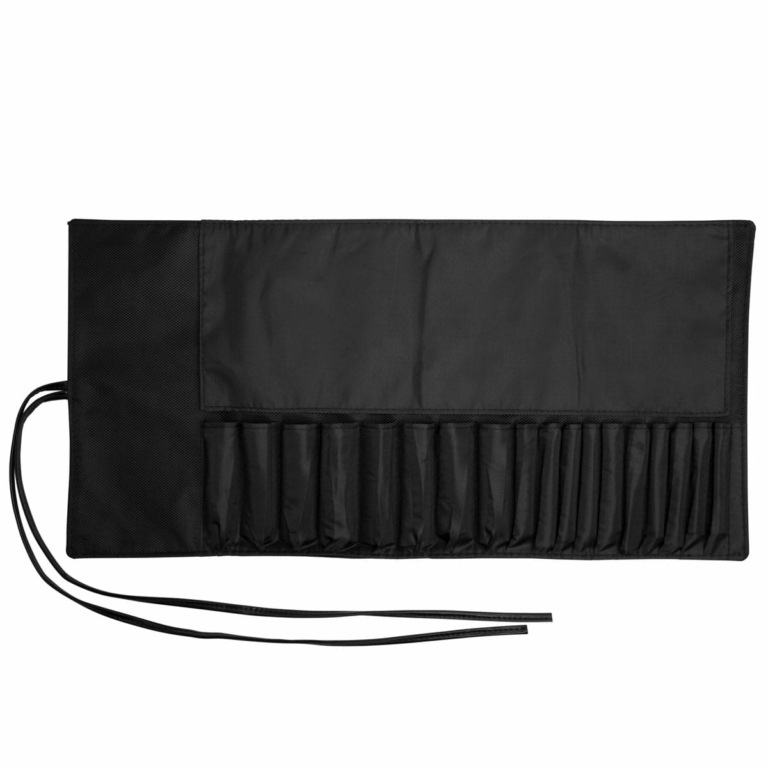 makeup brush roll up case