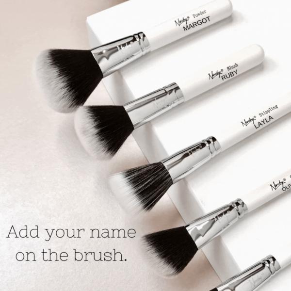Personalised Makeup Brush Set
