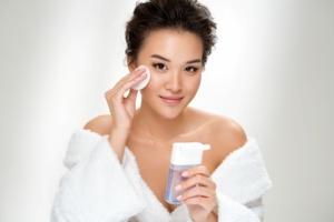 women skincare massage